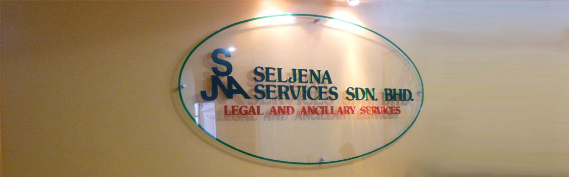 Seljena-Signage